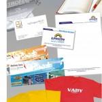 Carti de vizita, fluturasi, pliante, pixuri, brichete, scrumiere, seturi lux personalizate, promotionale, tricouri, sepci personalizate, etc.